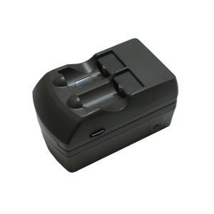 ●リチウム充電池 CR2用 充電器 バッテリーチャージャー|rowa