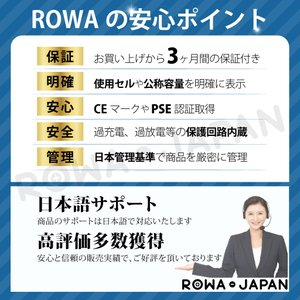 2個セット SoftBank ソフトバンク HWBBJ1 HWBBN1 HWBBK1 互換 電池パック Pocket WiFi 501HW 502HW 対応 【ロワジャパン】 rowa 05