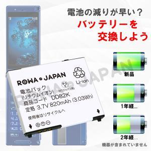 SoftBank ソフトバンク PMBAS1 互換 バッテリー 001P 002P 103P 940P 対応 【ロワジャパン】|rowa|02