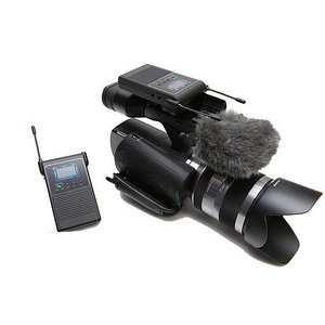 ●一般業務用 2.4GHz デュアルチャンネル デジタルワイヤレスマイクロフォン【Aセット】|rowa