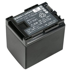 Canon キヤノン BP-819 BP-819D 互換 バッテリー  残量表示対応 BP-809 BP-827 対応 【ロワジャパン】 rowa 02