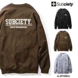 【予約商品】Subciety SWEAT (先行予約キャンセル不可)|rowdydog
