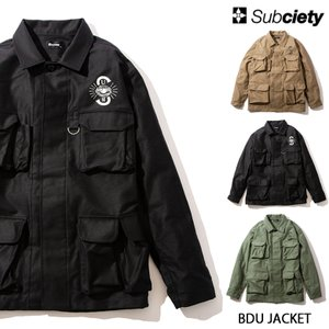 【予約商品】Subciety BDU JACKET (先行予約キャンセル不可)|rowdydog