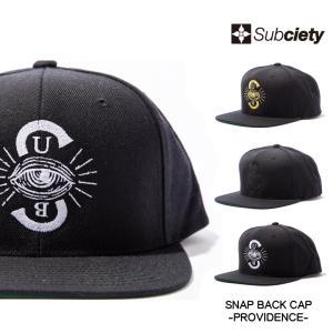 Subciety SNAP BACK CAP-PROVIDENCE-(先行予約キャンセル不可)|rowdydog