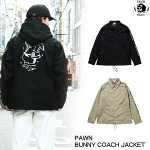 PAWN BUNNY COACH JACKET rowdydog