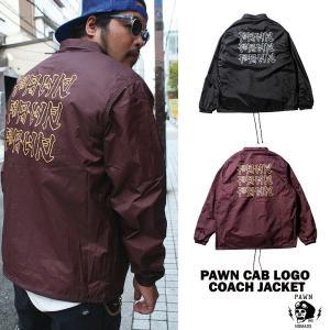 PAWN LOGO COACH JACKET rowdydog