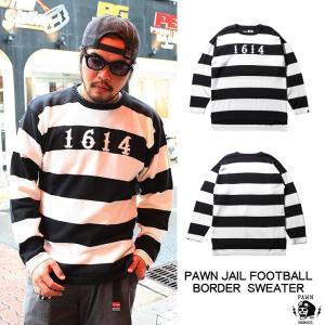 PAWN JAIL FOOTBALL BORDER SWEATER rowdydog