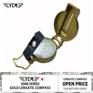 YCM レンザティック コンパス 3800G | ゴールド | 日本製 | 高性能 | 方位磁石 | ブレスレットになるランヤードおまけ|royal-breeze