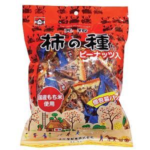 浪花屋製菓 元祖 柿の種 ピーナッツ入り 個包装パック 170g(約30個)|royal-net