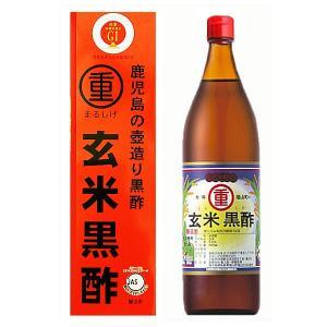 丸重 まるしげ 玄米黒酢 福山玄米黒酢 900ml×1本|royal-net
