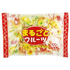 日進製菓 まるごとフルーツキャンディ 500g|royal-net