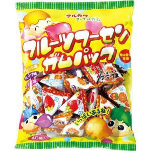 丸川製菓 フルーツフーセンガムパック 4粒×40コ入  【1コあたり9.2円】|royal-net