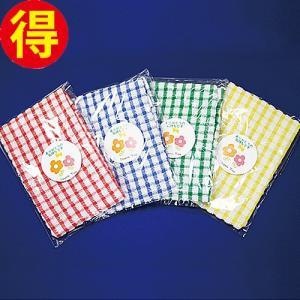 ワッフルソフトキッチンタオル 12枚セット(4色×3) royal-net