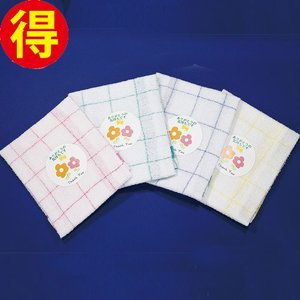 格子柄キッチンクロス 12枚セット(4色×3) royal-net
