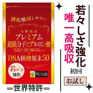 ヒアルロン酸  ECME120+DNA核酸50 美容サプリメント 美容サプリ コントロイチン硫酸サプ...