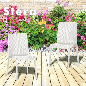 ステラチェア2脚セット |  チェアー ガーデンチェアー チェア 椅子 屋外 ガーデニング ガーデン ベランダ 家具 ガーデンファニチャー|royal3000