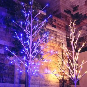 LED イルミネーション ツリー 150cm | おしゃれ 屋外 2Dツリー オーナメント ブランチツリー モチーフライト クリスマス イルミネーションライト 電飾の画像