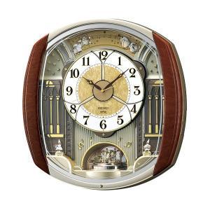 代金引換不可 セイコー電波からくり時計 |  seiko セイコークロック 新築祝い プレゼント 結婚祝い リビング ブランド おしゃれ 壁かけ時計 壁掛時計|royal3000