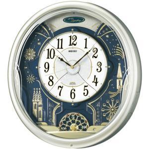 代金引換不可 セイコー電波からくり時計 |  seiko セイコークロック とけい 新築祝い プレゼント 結婚祝い リビング ブランド おしゃれ 壁かけ時計|royal3000