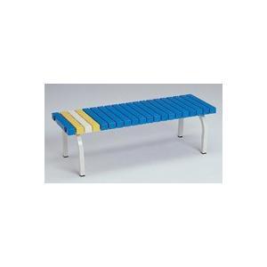 代金引換不可 樹脂座面ベンチ120cm (業務用) |  チェアー エクステリア 家具 ガーデンファニチャー 快適 椅子 庭 屋外用チェア ガーデン|royal3000