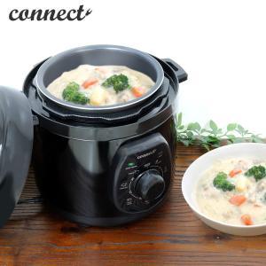 ■手間や時間のかかる煮込み料理が簡単に作れる電気圧力鍋です。 ■材料を入れたらダイヤルセットするだけ...