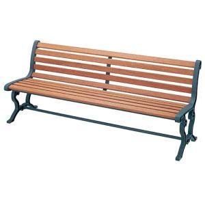 代金引換不可 屋内外用ベンチ  天然木  背付肘なしRYB-78L-WN (業務用) |  ガーデンファニチャー ウッドチェア 背もたれ 庭 屋外用チェア 椅子|royal3000