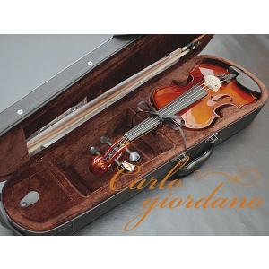 カルロ・ジョルダーノ 分数バイオリンセット VS-1 サイズ:3/4 ケースカラー:ブラック  ・楽...
