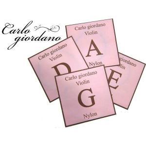 カルロ・ジョルダーノ VNS-260 1/4 バイオリン弦セット 分数 子供用