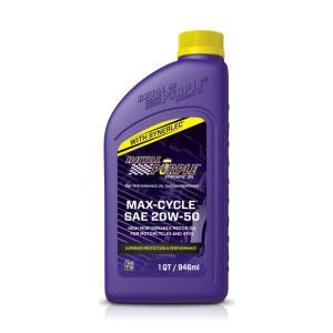 【正規輸入】ロイヤルパープル royal purple Max Cycle 20W-50 1qt|royalpurple