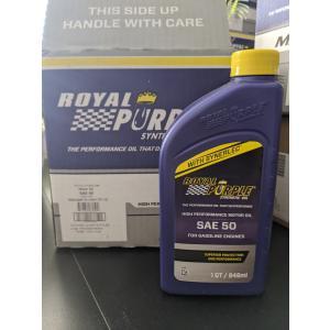 【正規輸入】ロイヤルパープル  royal purple SAE50 1qt|royalpurple