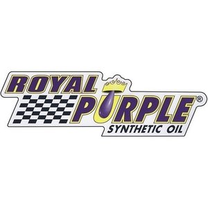 【正規輸入】 ロイヤルパープルロゴステッカー ROYAL PURPLE DECAL - WHITE VINYL - 6