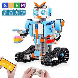 Sillbird STEM ブロック建築ロボット、子ども用リモコン工学科学教育用建築おもちゃキット、8、9〜14歳の男児、女児向け|rrcompany