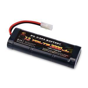 melasta 7.2V 実際容量3000mAh ラジコン用バッテリー Ni-MH ニッケル水素 バッテリー ハイパワー電池 6-セル バッ|rrcompany