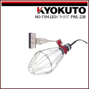 極東産機 LEDパワーランプ 22W PWL-22B|rrd