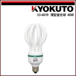 極東産機 ロータスクリップライト 40W 蓮型蛍光球|rrd