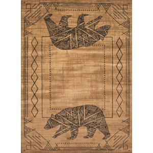 ラグマット Bear Cave ベアーケイブ(57cm×80cm) United Weavers of America(ユナイテッド・ウィーバーズ・オブ・アメリカ)|rrd