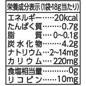 カゴメ トマトペーストミニパック (18g×6袋)×15箱