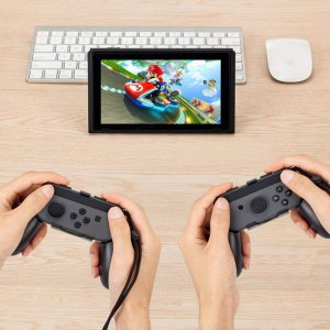 Vikisda Nintendo Switch コントローラー NS Joy-Con ハンドル (2...