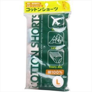 コットンショーツ 綿100% 女性用 Lサイズ 5枚入|rrr-j