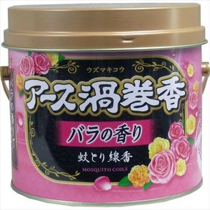アース渦巻香 蚊とり線香 バラの香り 30巻|rrr-j