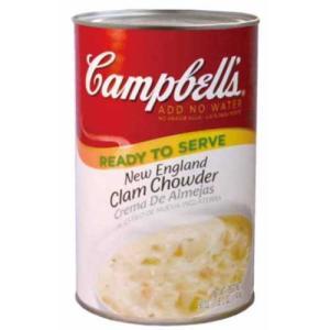 キャンベル クラムチャウダー スープ 1.41kg×2缶|rrr-j