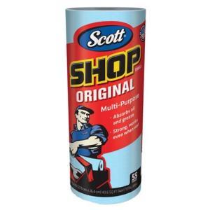 SCOTT Shop Towels ブルーロール 55枚
