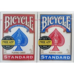 BICYCLE STANDARD トランプ レッド&ブルーセット|rrr-j