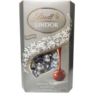 リンツ リンドール チョコ シルバー4種アソート 600g rrr-j