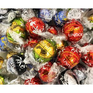 リンツ リンドール チョコ 4種類 600g(48個)シルバーアソート バラ売り お試し ポイント消化 LINDT LINDOR|rrr-j