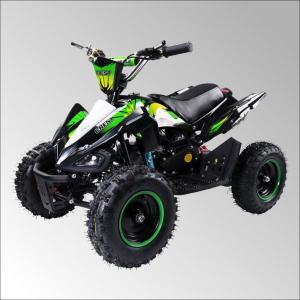 最新大口径6インチ仕様!前後ディスクブレーキ50ccMINI 四輪バギー最高速度 45km/h緑色トリプルサス仕様