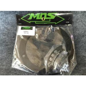 【即納】MOS製 TMAX530専用 トランスミッションベルトプーリーカバーCNC加工 ブラック