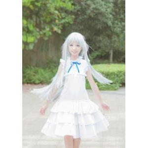 原作をイメージしたスタイリッシュなワンピースです。 シンプルな白は普段着でも大変可愛らしく、とっても...
