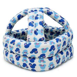 ケガ防止 乳幼児 スポンジ ヘルメット ベビー 安全帽子 (ブルー)