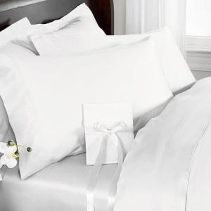 R.T. Home - 高級エジプト超長綿(エジプト綿)ホテル品質 枕カバー 43×63CM 500スレッドカウント サテン織り 防ダニ 白(ホワイト) 封筒式 rtstudio 03